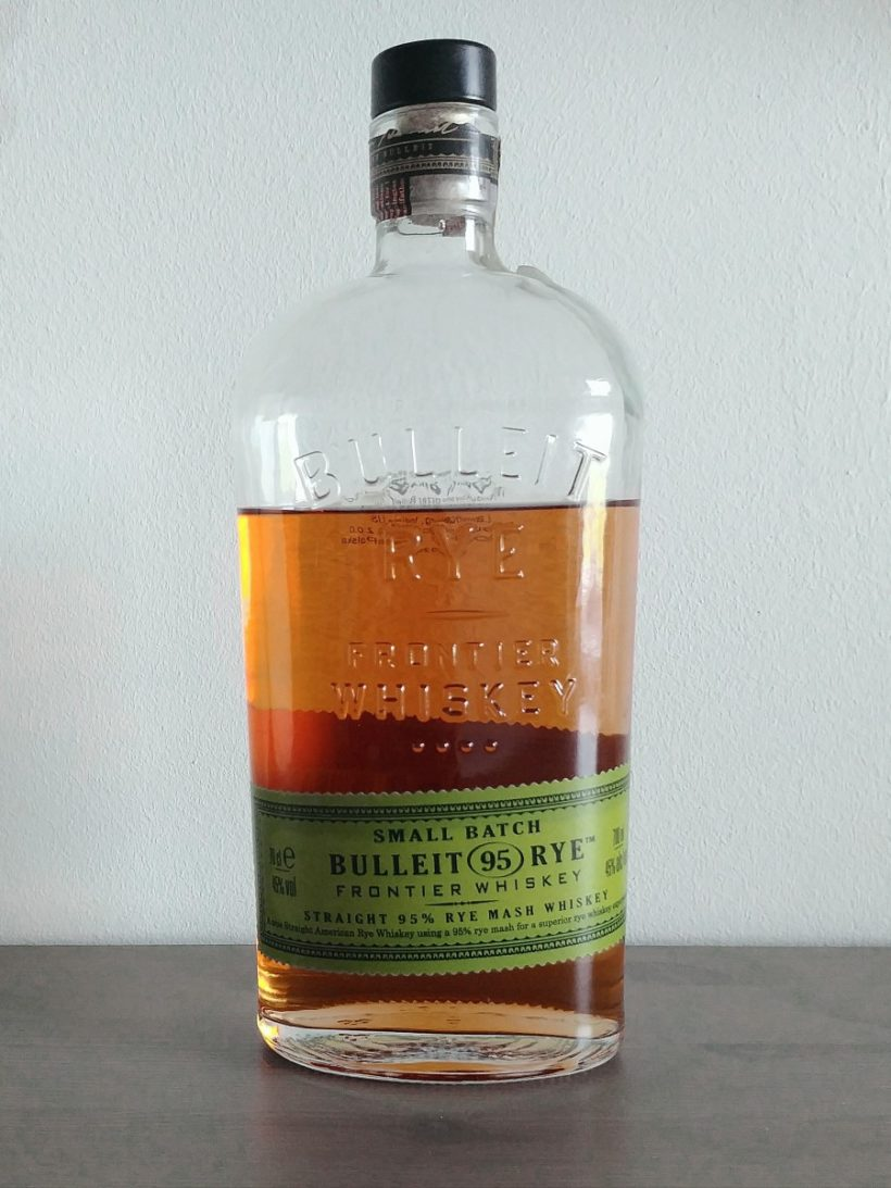 Bulleit Rye 95 proof whiskey - butelka