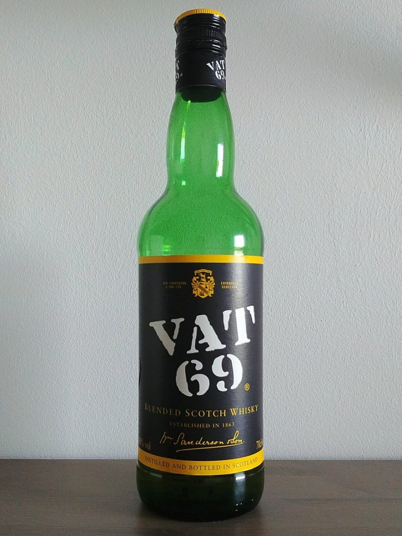 Vat 69 blended scotch whisky