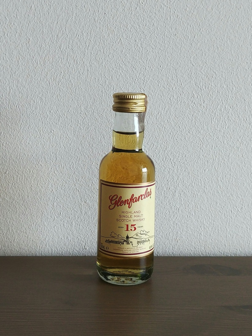 Glenfarclas 15 years old miniaturka 5 ml