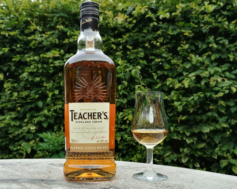 teachers higland cream blended whisky