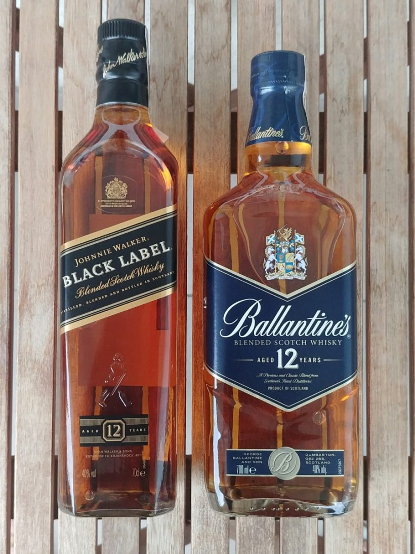 Johnnie Walker Black Label vs Ballentine's 12 opinie
