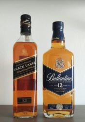 Johnnie Walker Black Label vs Ballentine's 12 – porównanie