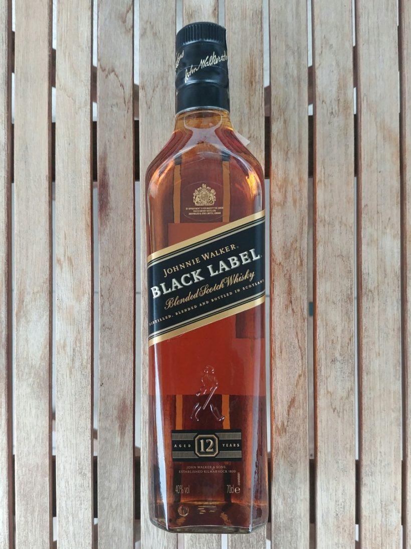 Johnnie Walker Black Label degustacja