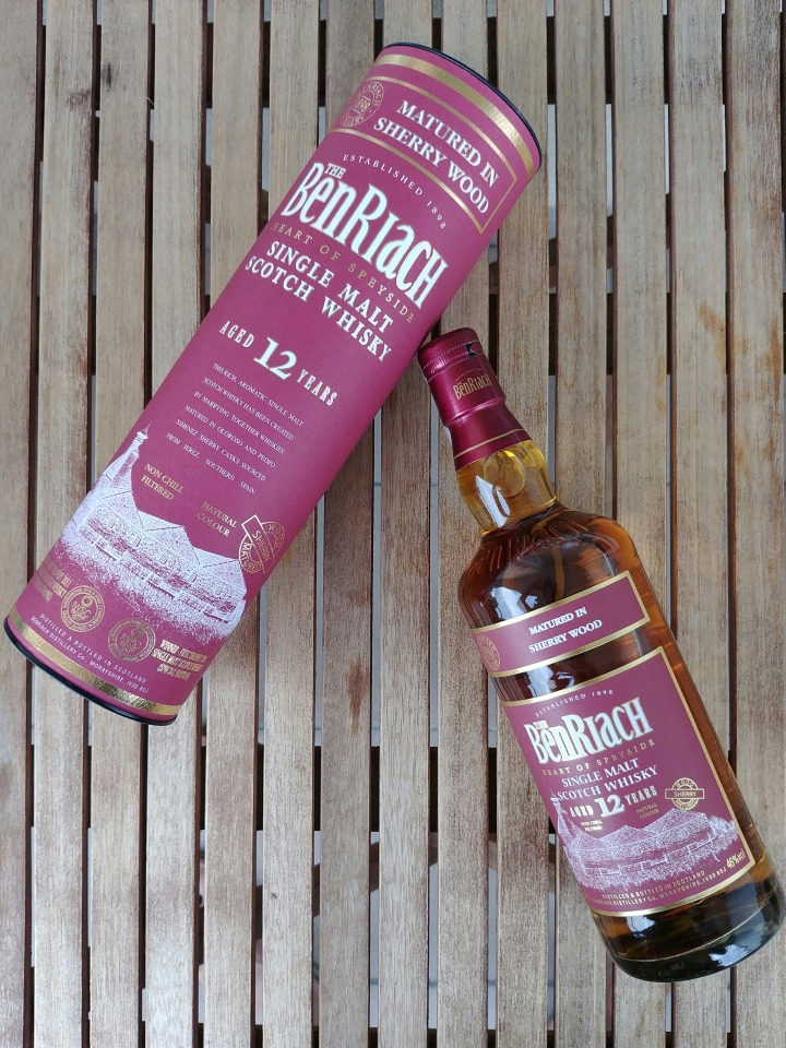 benriach 12 sherry wood z tubą