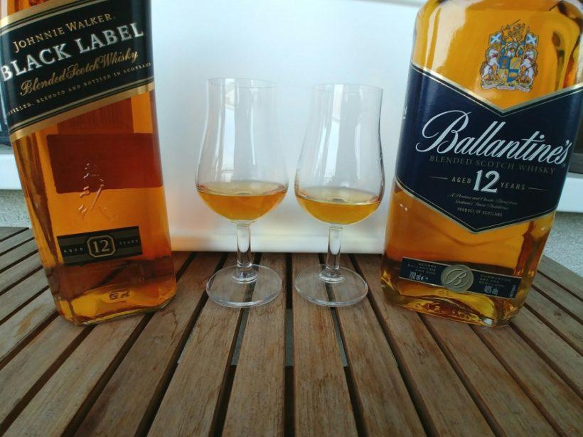 Ballantines 12 czy Johnnie Walker Black Label degustacja