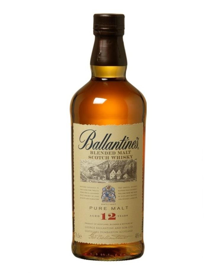 Ballantines Pure Malt - 12 letnia whisky komponowana wyłącznie z single malt