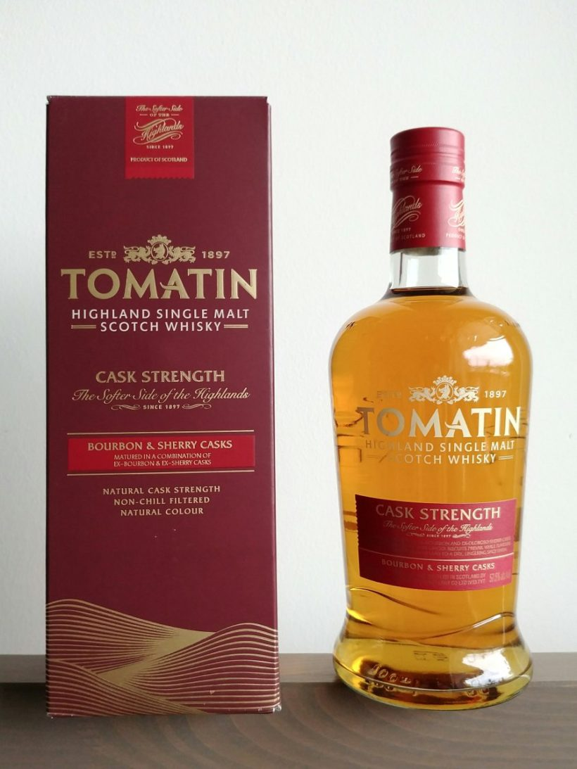 Tomatin Cask Strength 2017 release