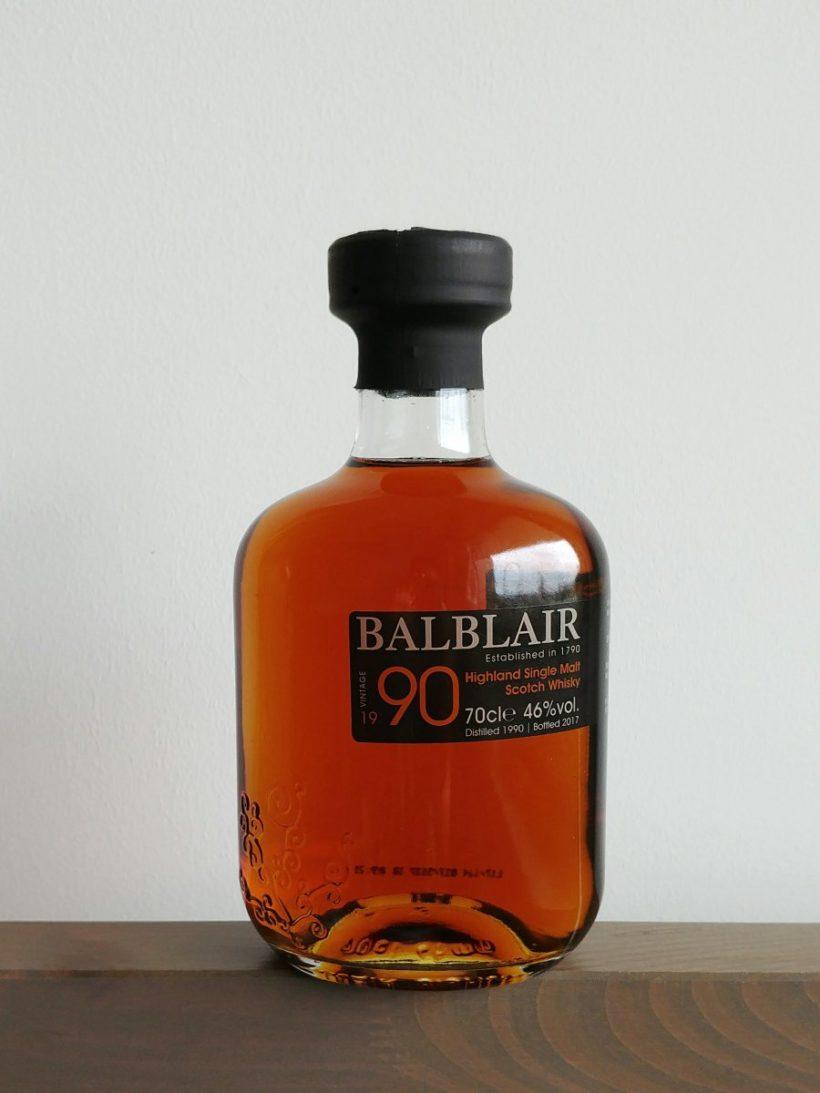 Balblair whisky z rocznika 1990