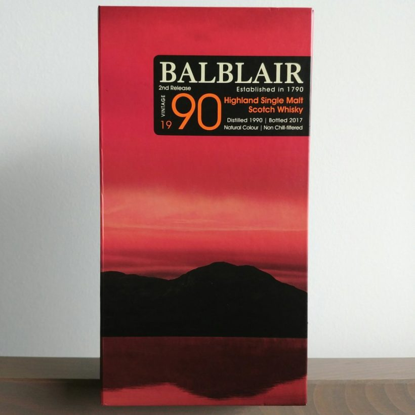 Balblair 1990 opakowanie
