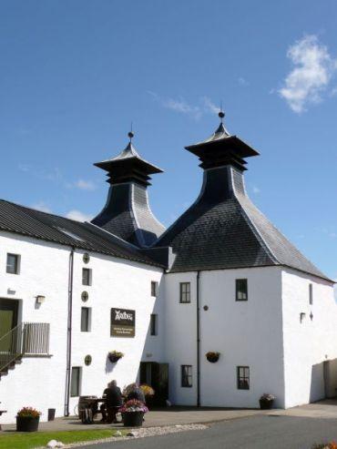 Budynki Ardbeg Distillery