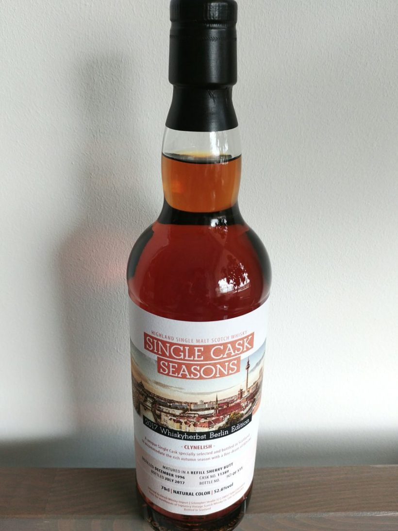 Clynelish 1996 SV sherry cask