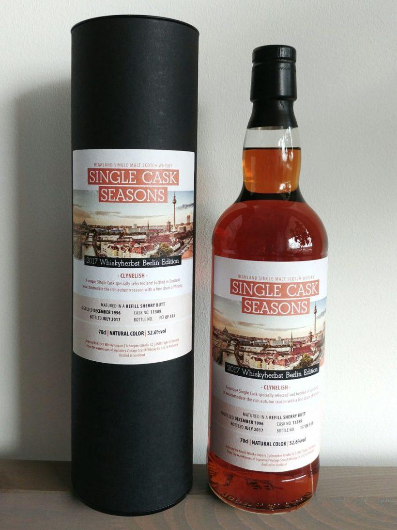 Clynelish 1996 SV Whiskyherbst Berlin Edition recenzja