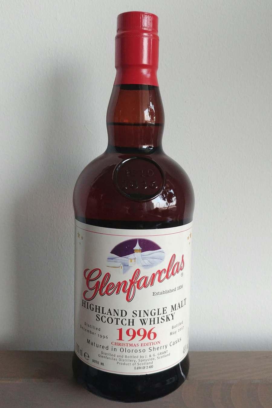 Glenfarclas 1996 xmas
