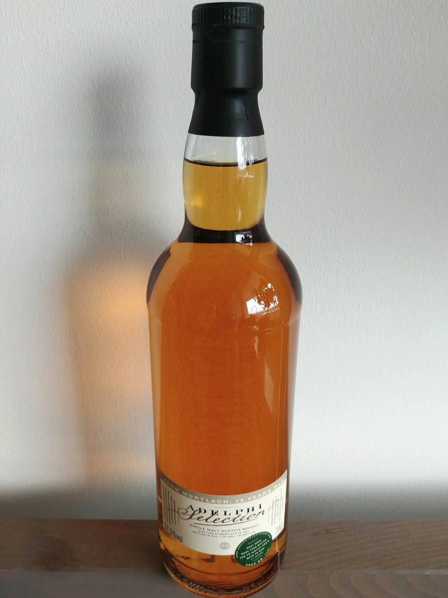Mortlach 1987 Adelphi kolor whisky