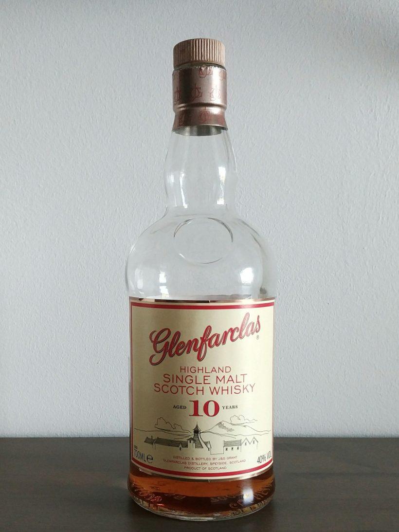 Glenfaclas 10 years old butelka bez tuby