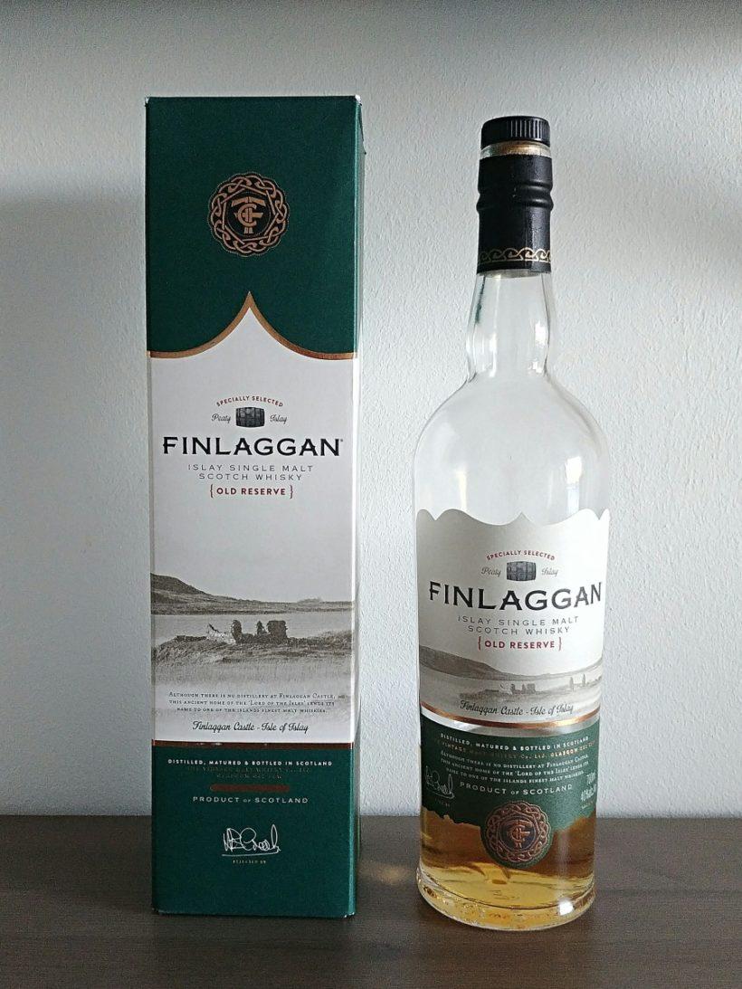 Finlaggan Old Reserve butelka i karton