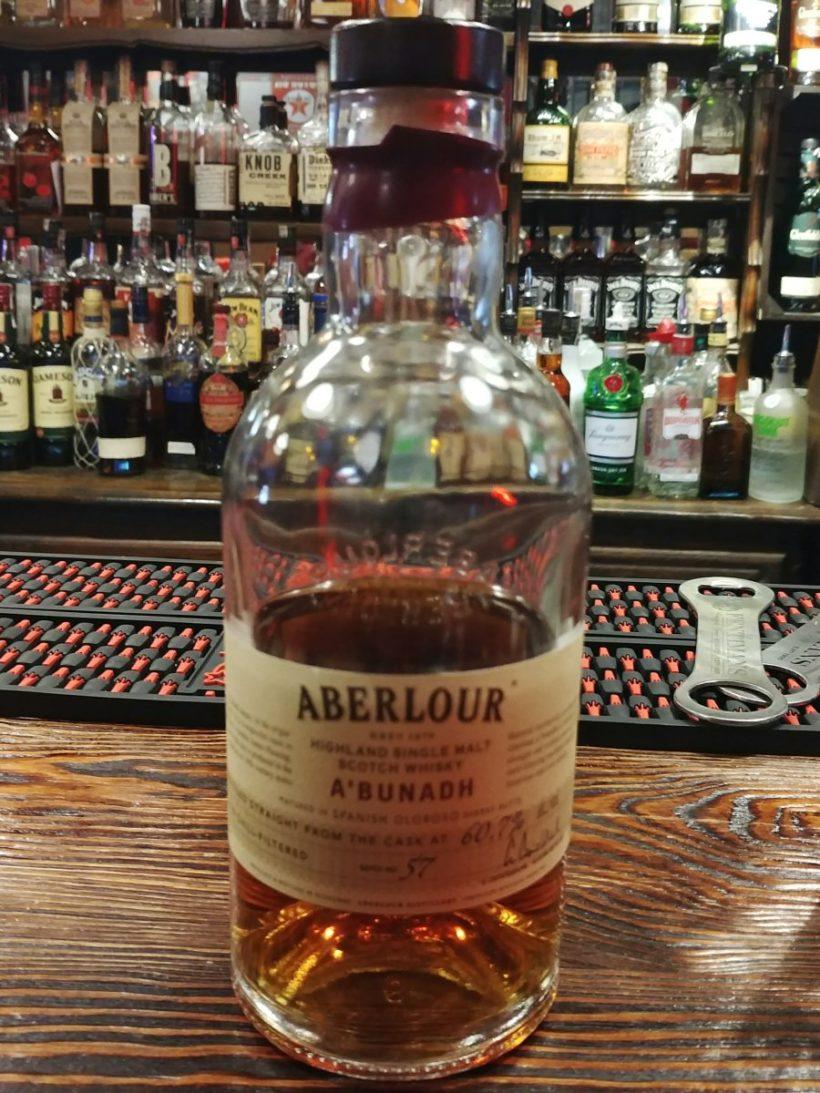 Aberlour A'bunadh batch 57 butelka