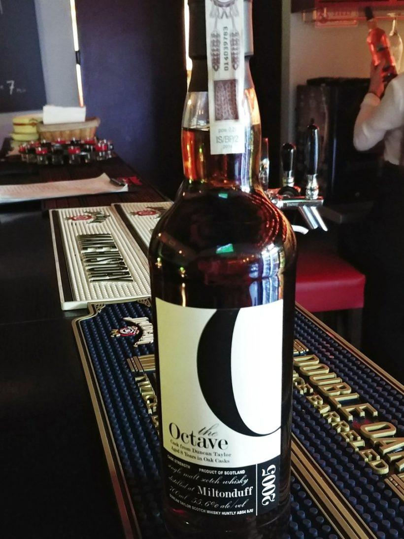 Miltonduff 2005 Duncan Taylor butelka