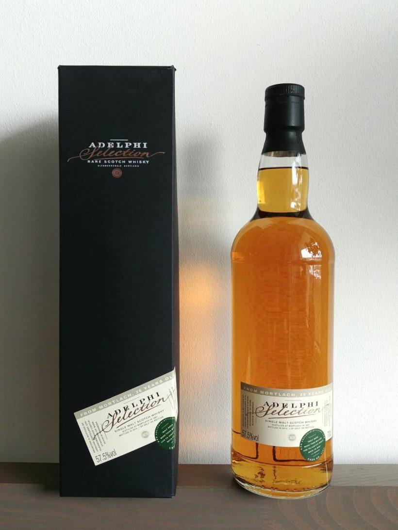 Recenzja whisky Mortlach 1987 Adelphi